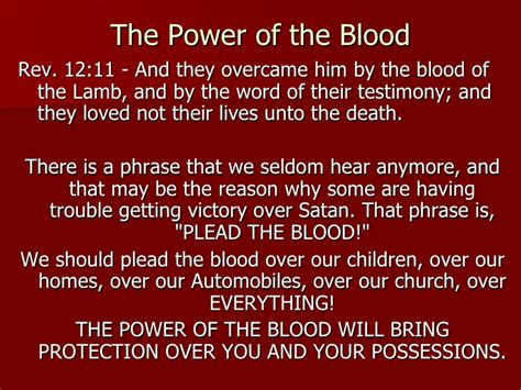 Gospel Song The Blood That Jesus Shed For Me by Plead The Blood Means To Make Your Based On The Shed
