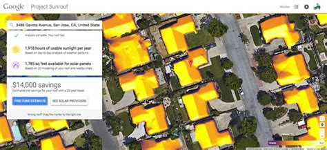 google announces project sunroof to help power the world launch of google sunroof brings valuable solar power data
