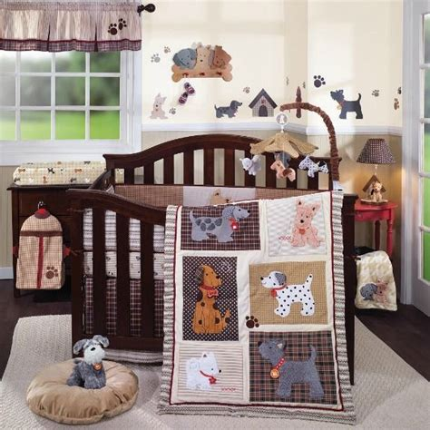 dog themed bedding quot woof quot nursery collection from lambs ivy love the