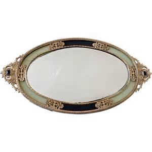 Vanity Mirror Japan Vintage Ormolu Mirror Vanity Tray Japan From