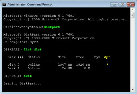 diskpart format uefi cannot upgrade due to unsupported disk layout for uefi
