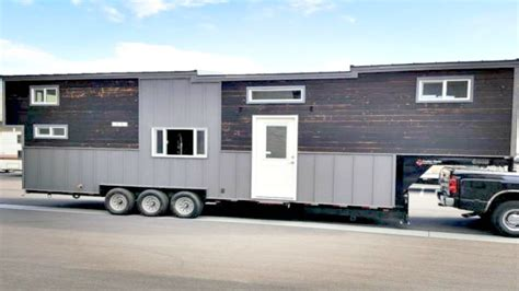 Gooseneck Trailer Tiny House Floor Plans With Tiny House Tiny House Gooseneck Trailer