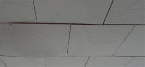 sagging ceiling tiles return on investment new ceiling tiles