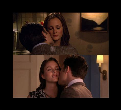 gossip girl blair waldorf  chuck bass kiss kisses myniceprofilecom