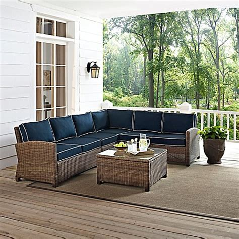 Crosley Bradenton Patio Furniture Collection Bed Bath Outdoor Furniture Collection