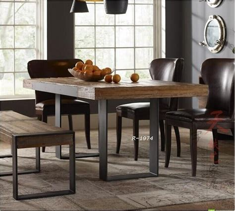 american country wood dining tables and chairs wrought
