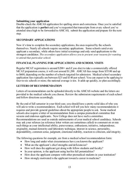 Letter Of Recommendation Requirements osteopathic school letter of recommendation