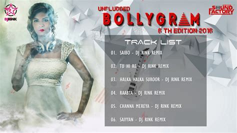 unplugged jukebox dj rink s bollygram 6th edition 2016 unplugged audio