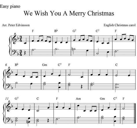 christmas sheet   lyrics   piano