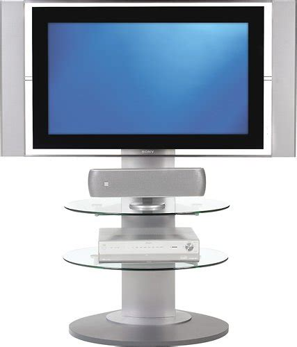 best buy flat screen tv bdi vista flat panel tv stand for tvs up to 55 quot 9960sil
