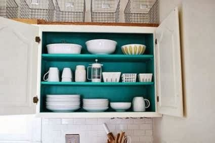 painting interior of kitchen cabinets paint the inside of your kitchen cabinets my little