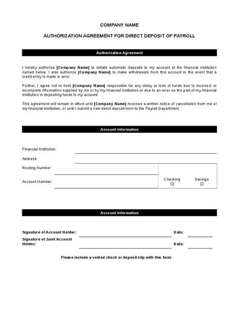 generic direct deposit form charlotte clergy coalition