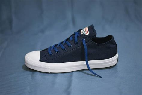 Sepatu Converse Chuck Ii Hi Komponen Oribiru Navy Dongker jual sepatu converse chuck ii komponen ori biru navy lapak sepatu sby