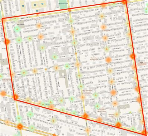 bed stuy map brooklyn cb 3 votes against saving lives in bed stuy and