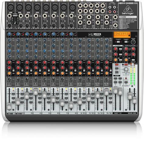 Mixer Behringer Qx2222usb qx2222usb analog mixers mixers behringer categories tribe