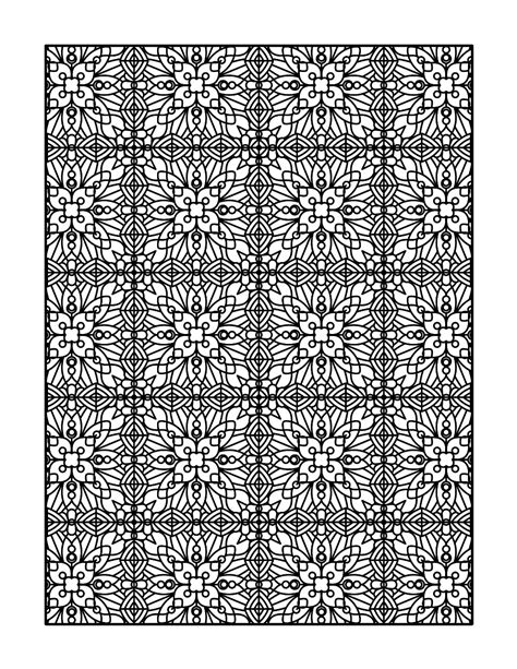 free coloring book background hand drawn zentangle floral