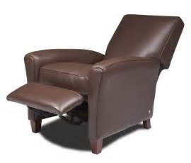 Compact Reclining Chair by Leather Recliner Chairs For Small Spaces