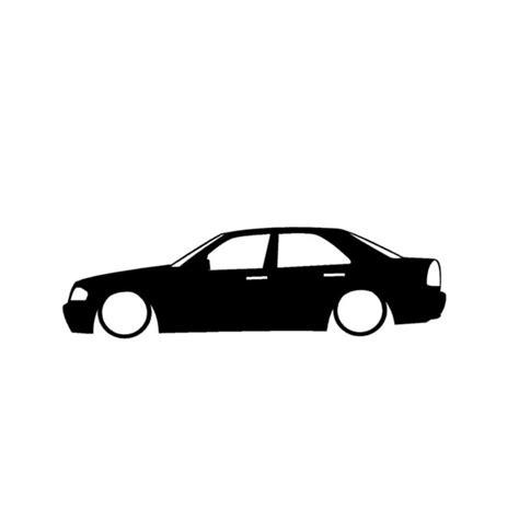 Auto Sticker Low by Wholesale 10 20pcs Low Mercedes Amg Outline Cartoon Car
