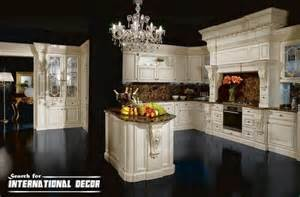 Luxurious Kitchen Cabinets Best Designs Of Luxury Kitchens In Classic Style