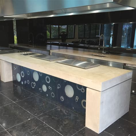 Kitchen Furniture Gallery concrete table large concrete benchtops melbourne