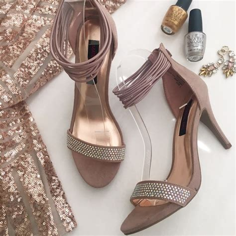 blush colored sandals 60 material shoes hp blush colored prom