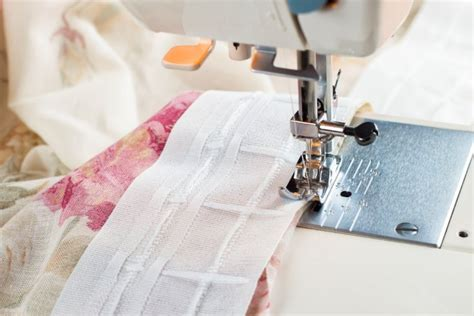 come cucire mantovane per tende cucire tende a vetro