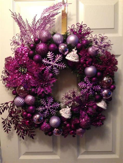 made this purple lavender snowflake n cupcakes christmas
