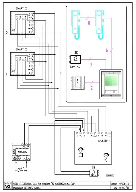 videx 3011 wiring diagram 25 wiring diagram images