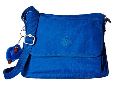 kipling vertical sling bag blue kipling aisling crossbody bag blue zappos