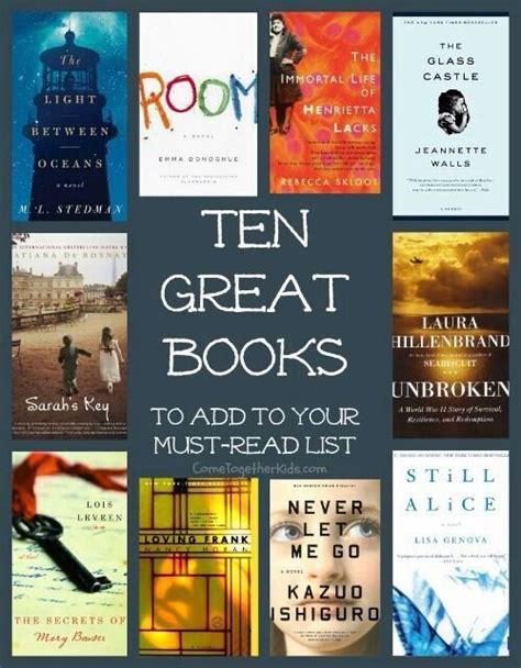 10 great books to add to your must read list trusper