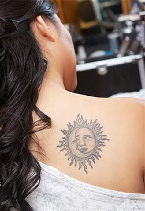 sun and moon tribal tattoo sun tattoos designs ideas and meaning tattoos for you