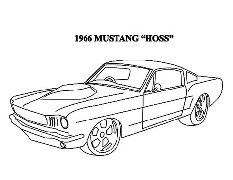 fox body mustang coloring pages coloring pages