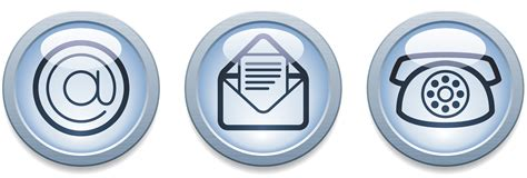 Phone Address 14 Business Icons For Emails Images Email Marketing Icon Business Email Icons And