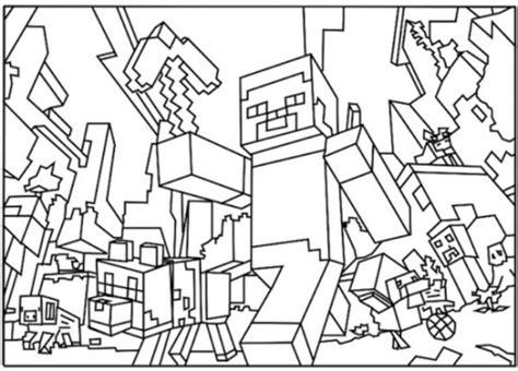minecraft village coloring page minecraft 8 de beste kleurplaten
