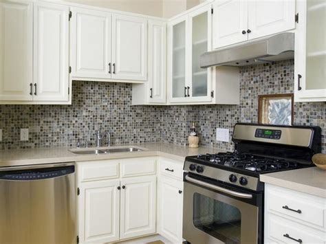 Replacing Kitchen Backsplash Modern Kitchen Backsplash Using Small Ceramic Tiles In The
