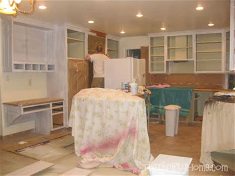 different ways to paint kitchen cabinets the thrifty home kitchen remodel painting cabinets