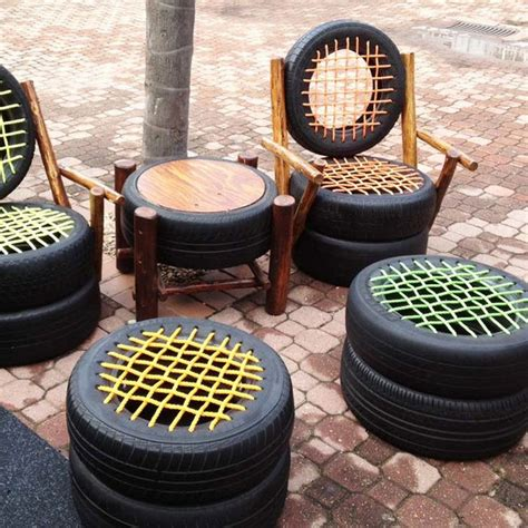 rubber for patio furniture 21 ways to turn tires into something great