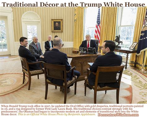 trump s oval office decor 2018 traditional d 233 cor trends influenced by donald and