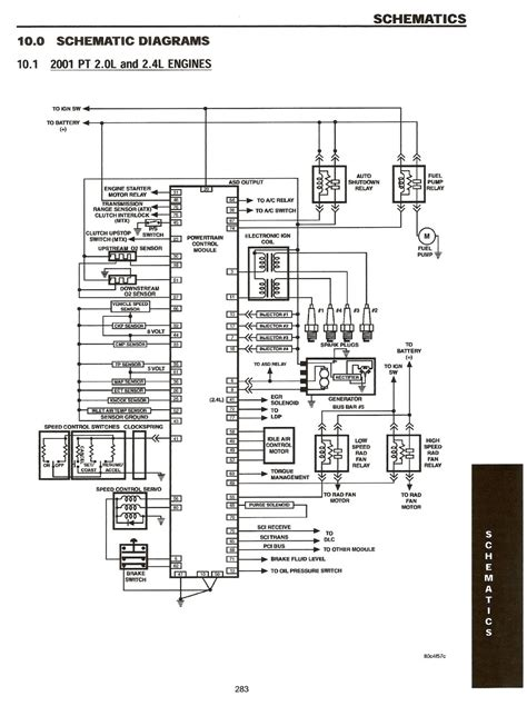 wiring diagram for 2001 pt cruiser wiring diagrams