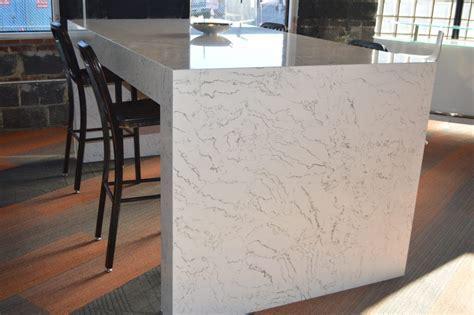 White Carrera Quartz Table ? OZ ENTERPRISES LLC