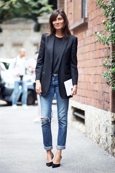 hairstyle on blazer 32 maneras de combinar tu blazer negro y verte