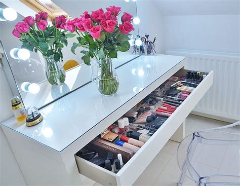 ikea bedroom dressing tables 17 best ideas about ikea makeup storage on pinterest