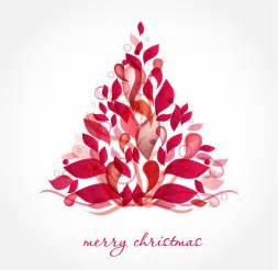 abstract design christmas tree vector art free vector