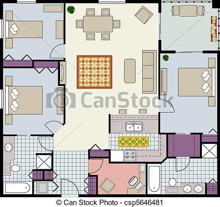 clipart furniture floor plan floor plan furniture clipart clipartfest floor plan