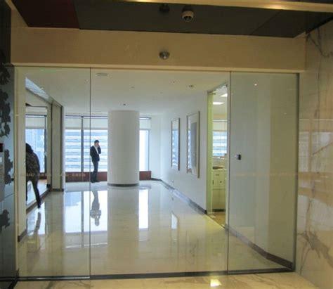 Es200g Automatic Tempered Glass Office Sliding Door Buy Exterior Office Doors