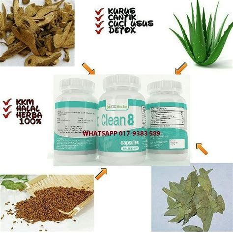 Harga Clear Herbs ubat kurus paling berkesan produk untuk kuruskan badan