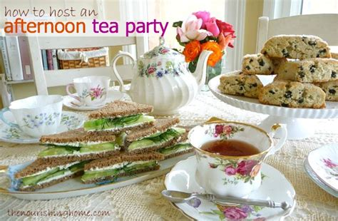 hosting party tips for hosting an afternoon tea party keeper of the