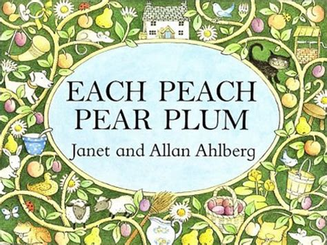 each peach pear plum library goddesses picture books each peach pear plum