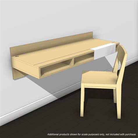 Lax Series Wall Mounted Desk by Lax Series Wall Mounted Desk 10384 2 00 Revit