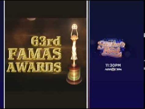 63rd Famas Awards 2015 | 63rd famas awards on sunday s best september 27 2015